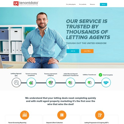 New Home Page UKtenantdata