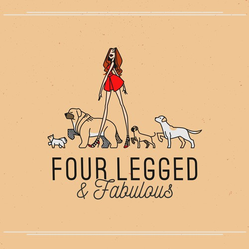 bold logo Four Legged and Fabulous