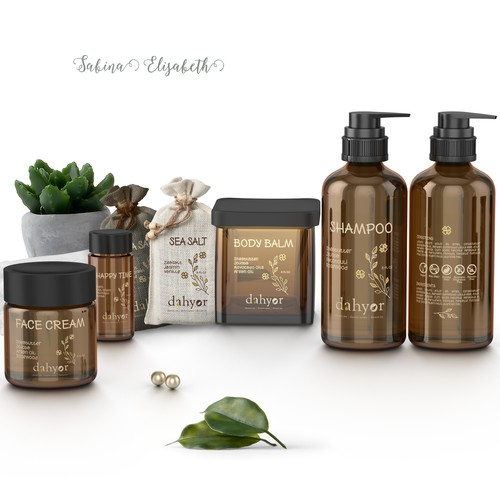 Labels for customized personal care products