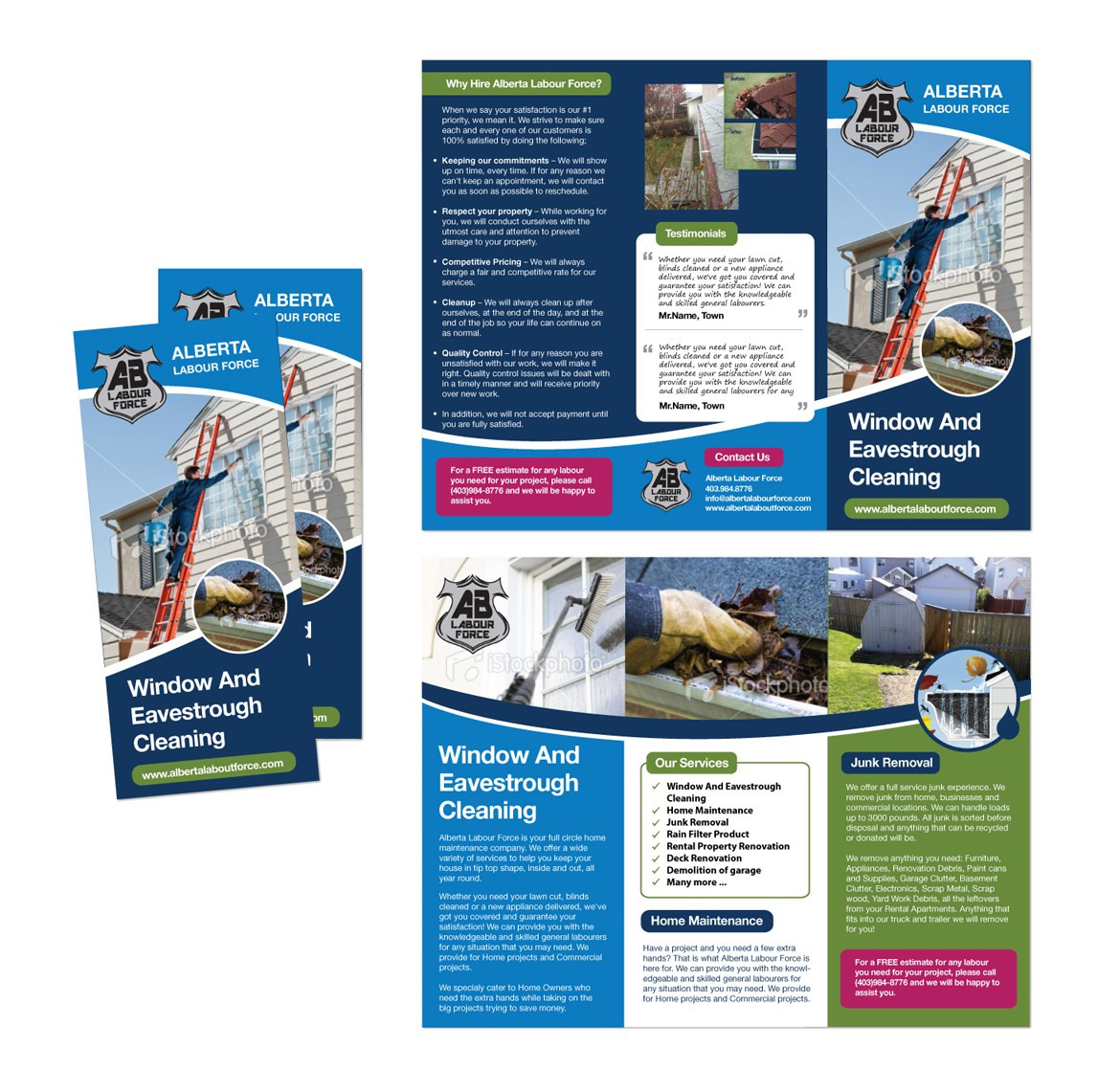 Help Alberta Labour Force with a new brochure design