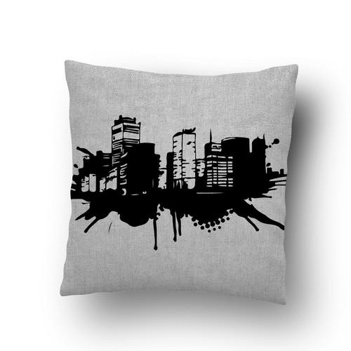 Cityscape Pillow