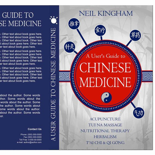 Help Neil Kingham Chinese Medicine with a new book or magazine cover