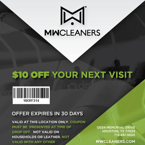 Create an Ad for MW Cleaners