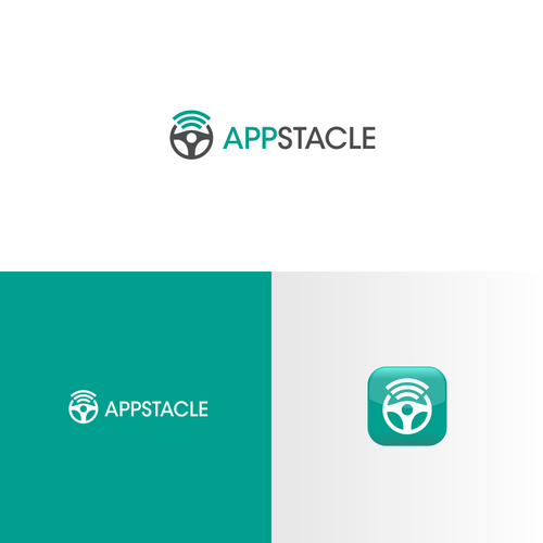 Create a unique logo for in-car application system