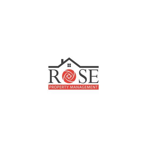 Logo concept for Rose Property Management.