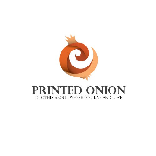 Create the next logo for Printed Onion