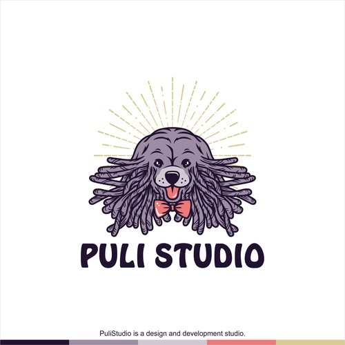 Logo concept for Puli Studio