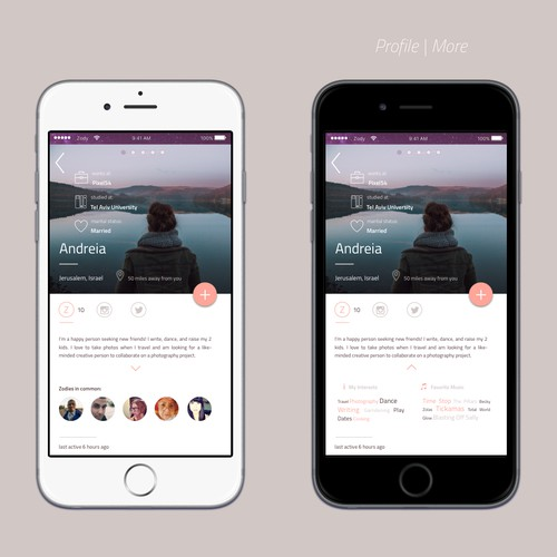 Clean UI for community app