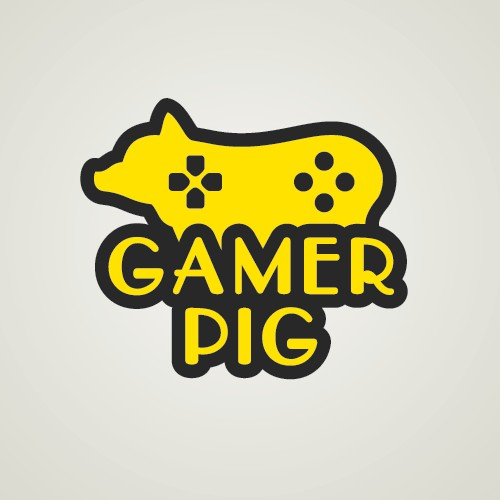 Gamer Pig Logo Submission