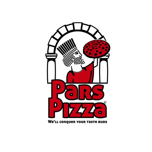 Pizza shop logo