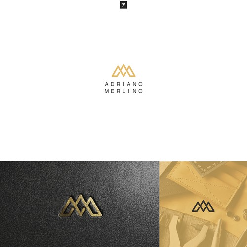 Monogram logo for Swiss based leather brand