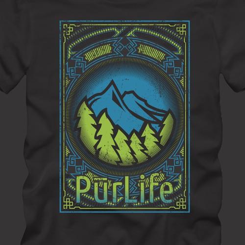 Purlife t-shirt