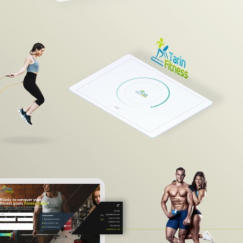 Web redesign for fitness gym website