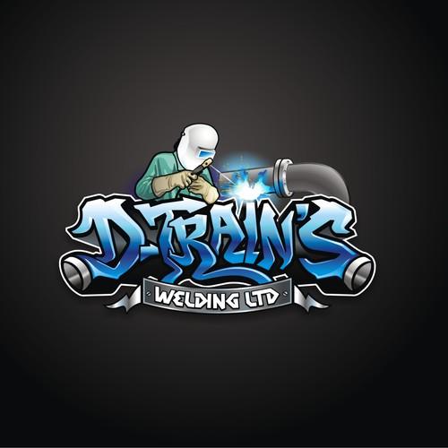 Create a graffiti masterpiece for dtrains welding