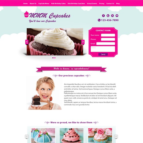 Whats more fun than a cupcake site? OK, alot of things, but this can be cool and fun too.