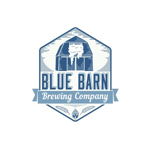 Blue Barn brewing logo