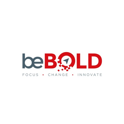 Bold logo for a digital consulting company