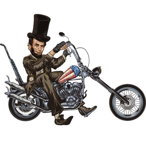 Abraham Lincoln Skaeteboard