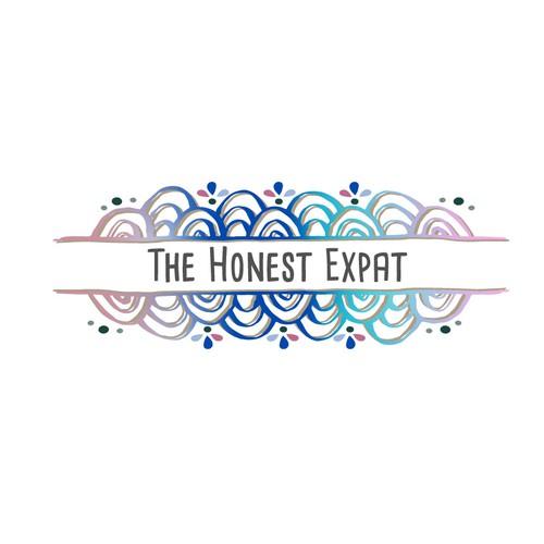 A lifestyle/travel blog logo