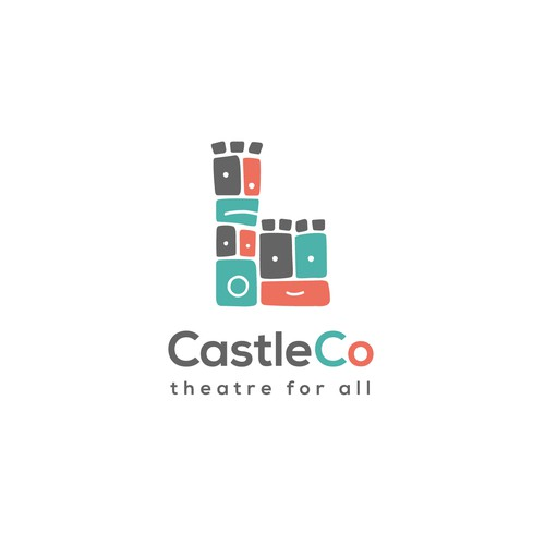 Playful logo for the theatre