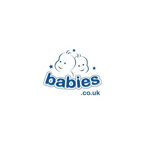 Logo concept for a company dealing with baby products,,