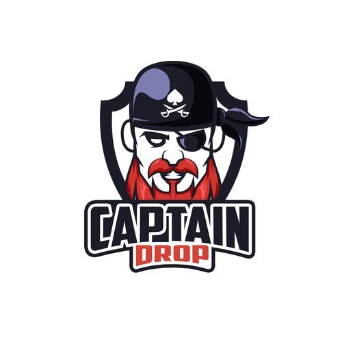 Captain drop logo