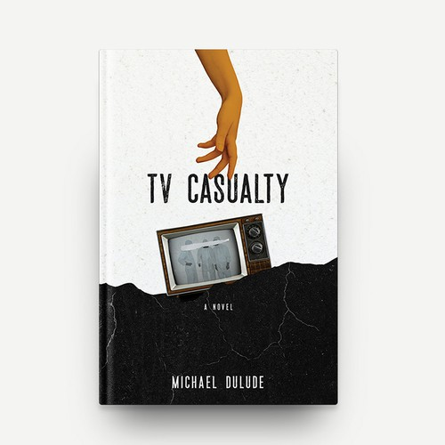 TV Casualty Book Cover Design