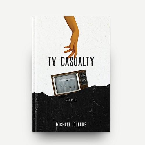 TV Casualty Book Cover Design