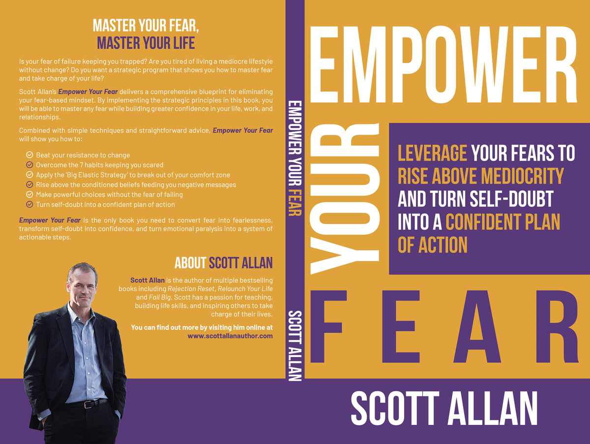 Empower Your Fear Book Cover
