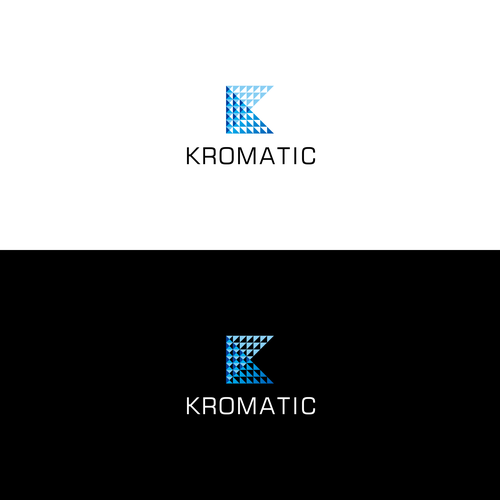 logo and identity for Kromatic