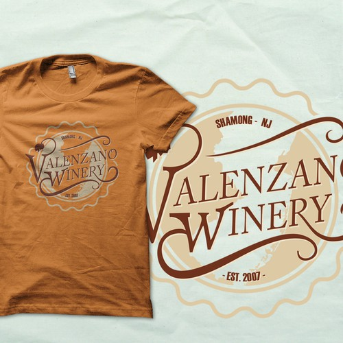 T-shirt for  Valenzano Winery