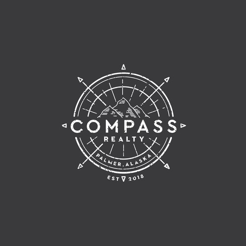 Logo design for Compass Real Estate