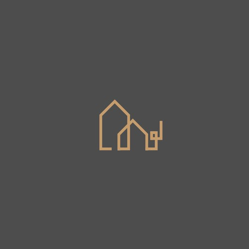 Logo concept for house remolding business