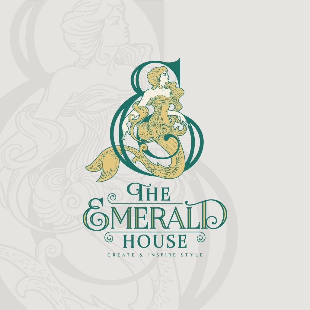 Design a Timeless Logo for The Emerald House - Majestic Mermaid