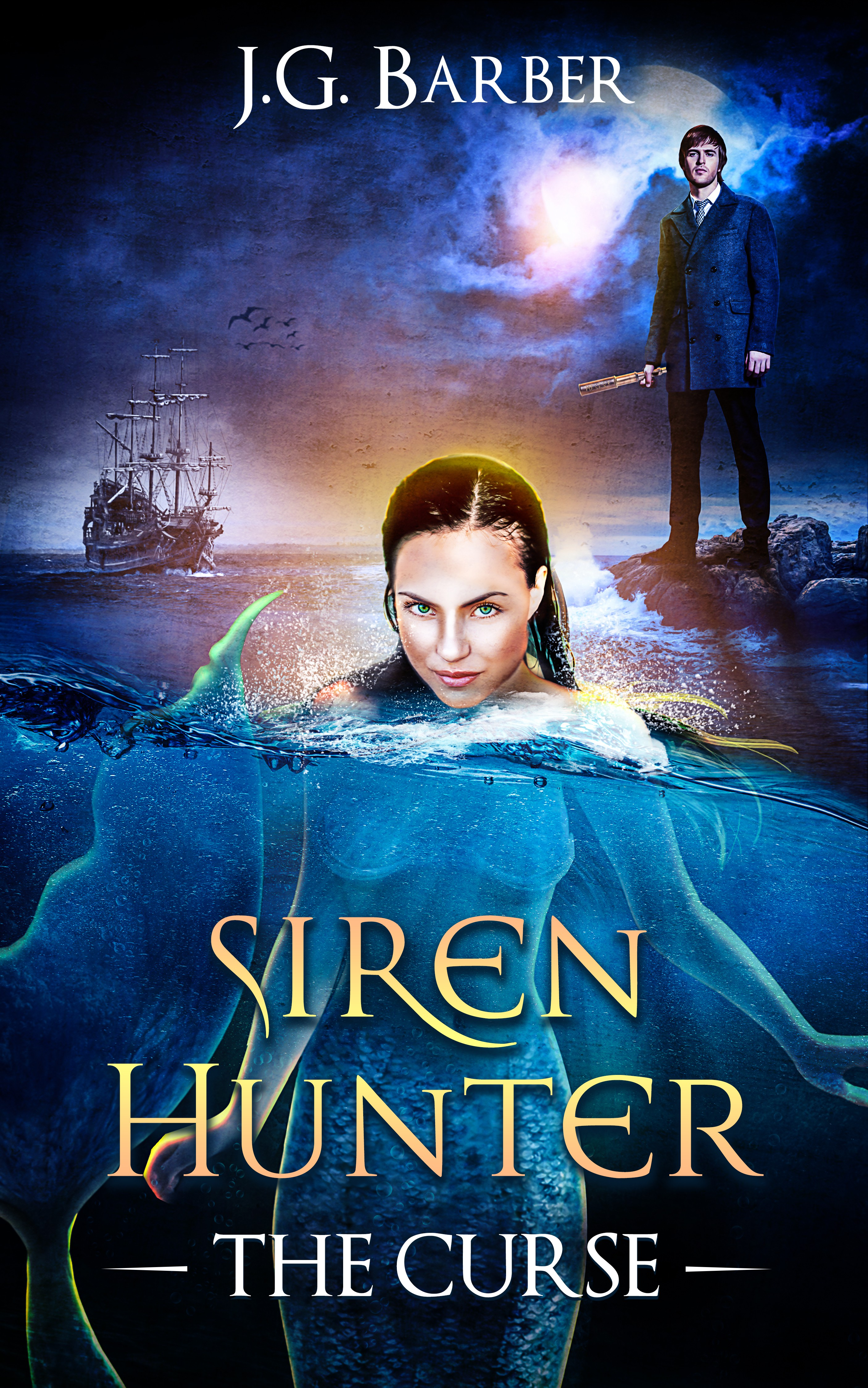 Siren Hunter needs an irresistibly seductive e-book cover
