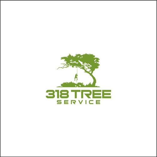 logo 318 tree service