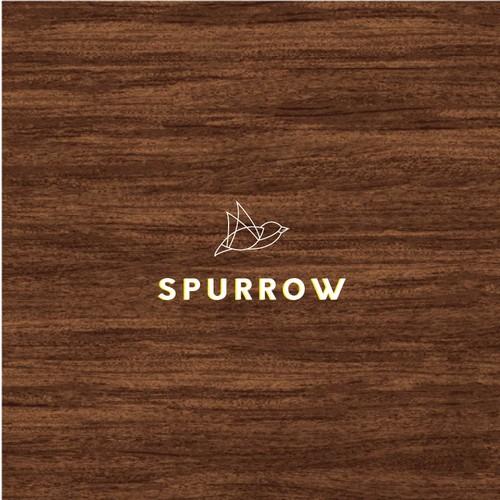 design logo for spurrow restaurants