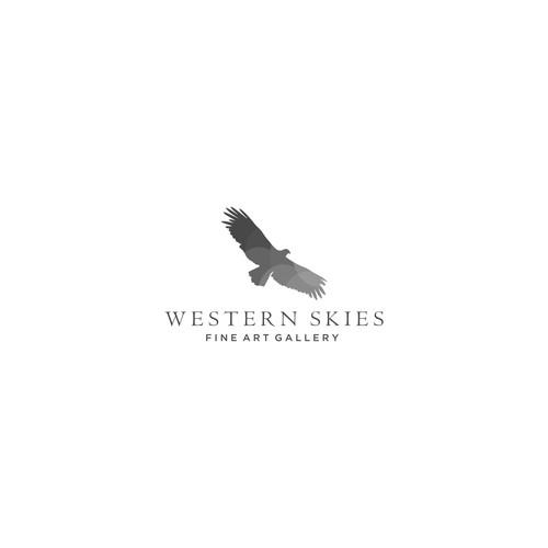 Logo for fine art gallery.