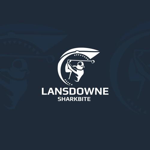 Sleek Logo for sport logo golf