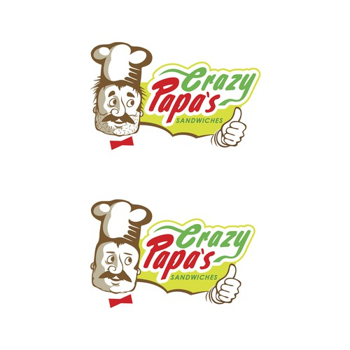 Crazy Papa's Logo