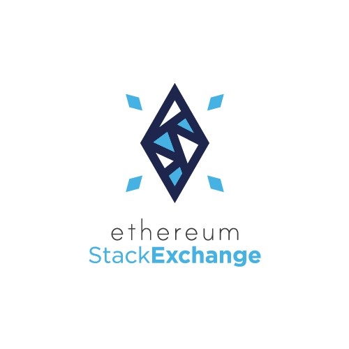 An abstract logo for the Ethereum StackExchange
