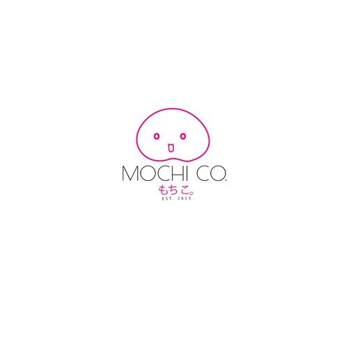 logo concept for japanese cupcake