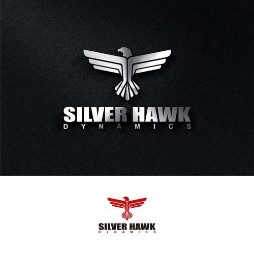 Bold logo concept for Silver Hawk Dynamics