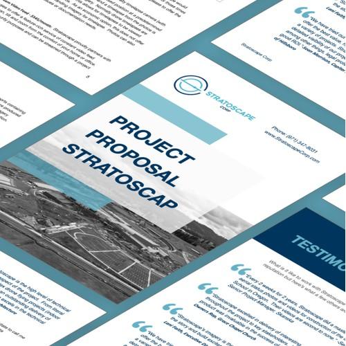 Project proposal design