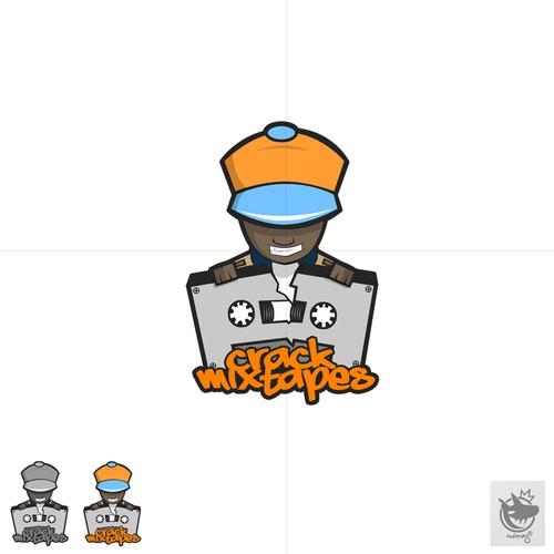 Hip Hop logo for Crack Mixtapes