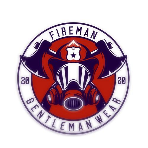 Fireman clothing logo