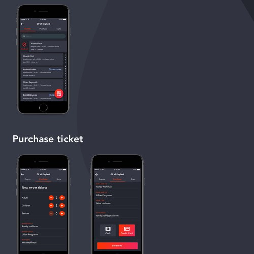 Ticket Sauce iOS App