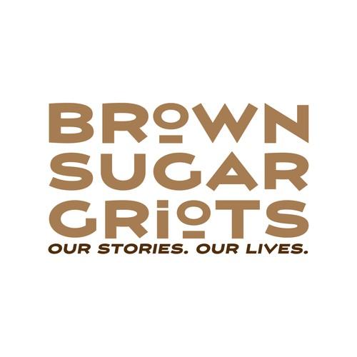 Runner-Up design for Brown Sugar Griots