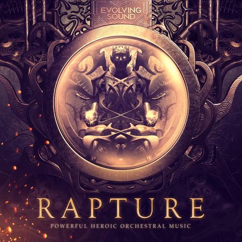 3D Futuristic Trailer Music Album Cover