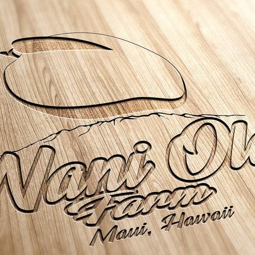 Logo concept for a farm in Hawaii